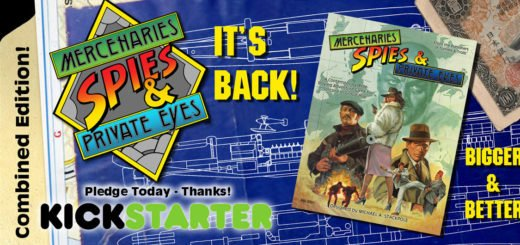 Mercenaries, Spies & Private Eyes Kickstarter